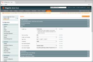 Magento1 log settings