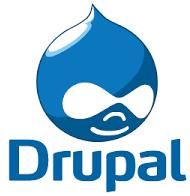 Drupal logo LinQhost