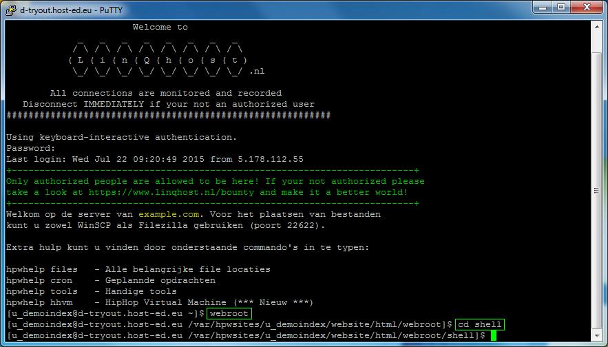 Handleiding: Magento Index draaien via de CLI - shell directorie